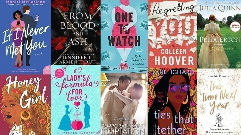10 Romance Novels For Your Lockdown Valentines Day